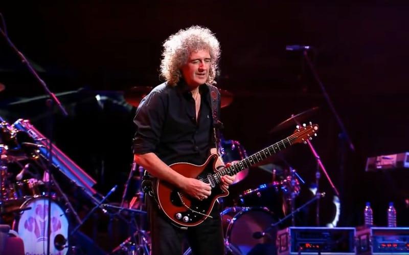 Brian May élu meilleur guitariste de rock de tous les temps
