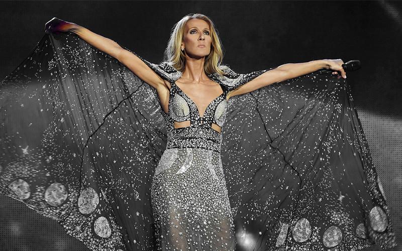 Céline Dion en concert au Paléo Festival le 19 juillet 2021