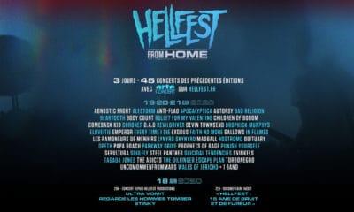 Le Hellfest From Home aura lieu du 18 au 21 juin 2020
