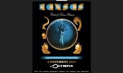 Kansas en concert à L'Olympia le 2 novembre 2021