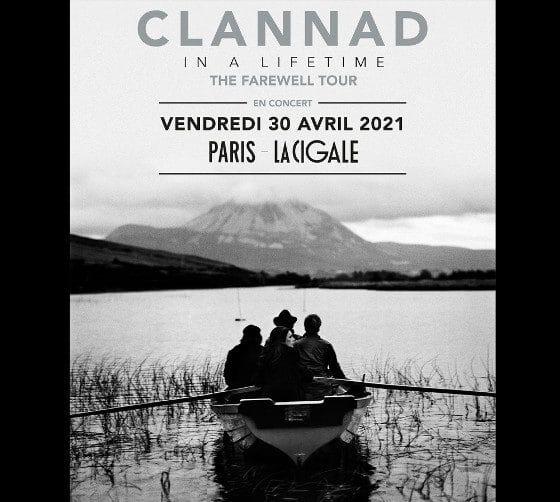 Clannad en concert à La Cigale le 30 avril 2021