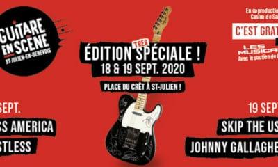 Cette année le festival Guitare en Scène est gratuit