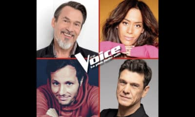 Florent Pagny et Vianney au casting de The Voice