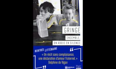 Le rappeur Gringe sort son premier livre