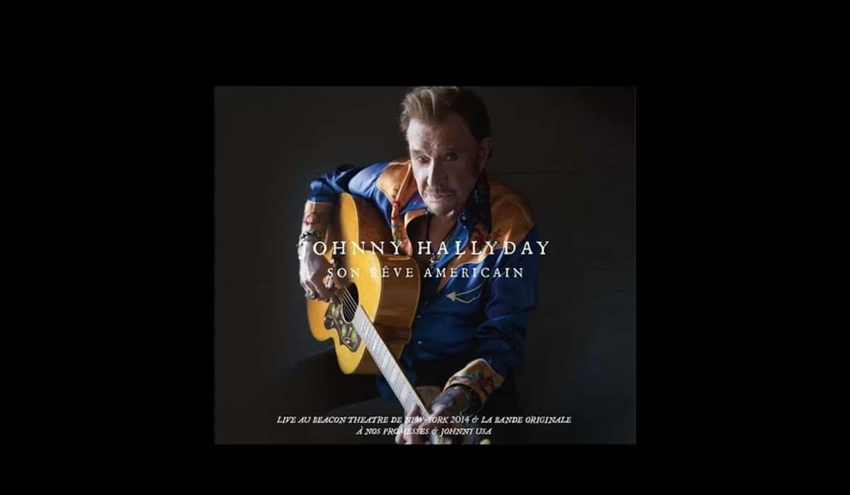 Johnny Hallyday dévoile son Rêve Américain