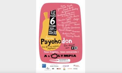 Grosse soirée à l'Olympia le 6 octobre pour le Psychodon