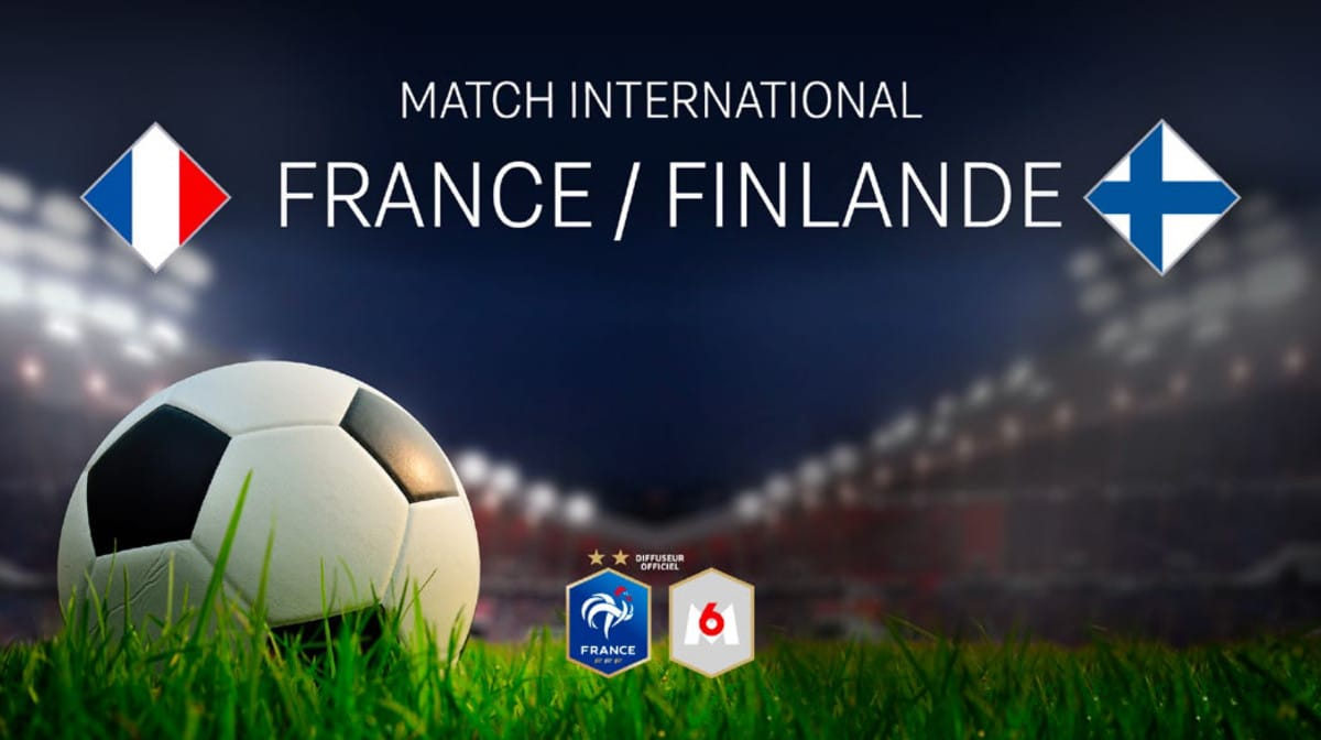 Football : Rencontre France / Finlande