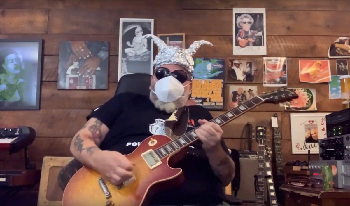 Popa Chubby dévoile le clip de « Tinfoil Hat »