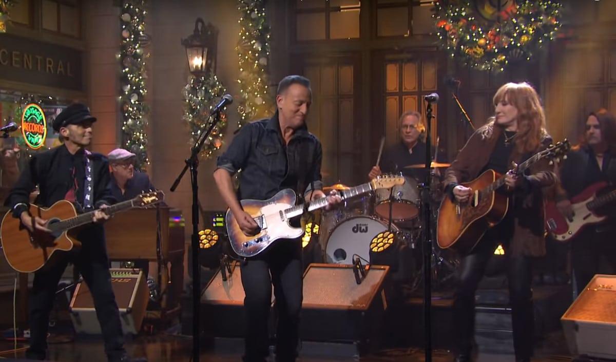 Bruce Springsteen et son E Street Band réunis pour un live