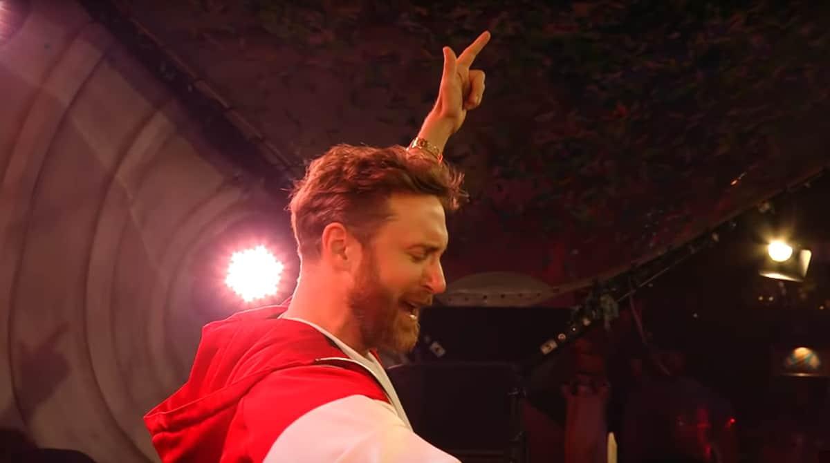 David Guetta s'offre son United At Home à Paris
