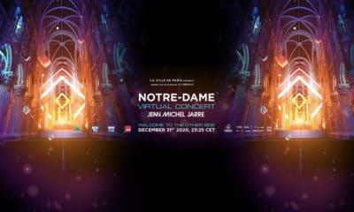 Jean-Michel Jarre en live le 31 décembre depuis Notre-Dame