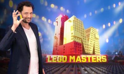 Eric Antoine aux manettes du concours LEGO MASTERS