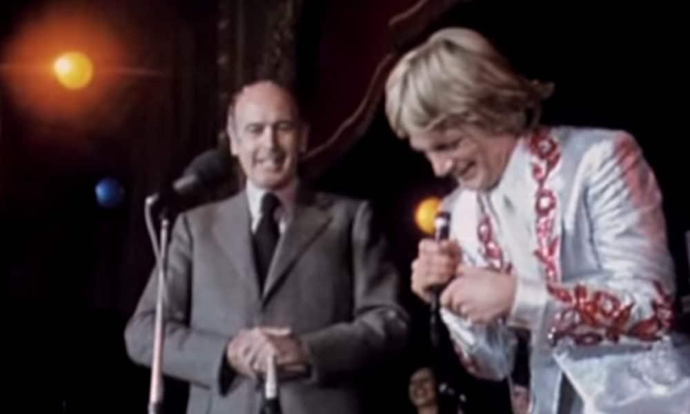 Valéry Giscard d'Estaing s'offre un duo avec Claude François