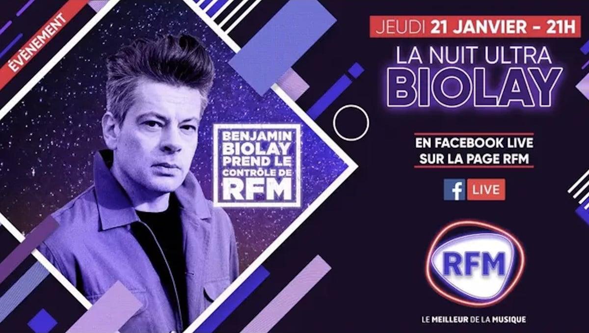 Benjamin Biolay prend les commandes de RFM Radio