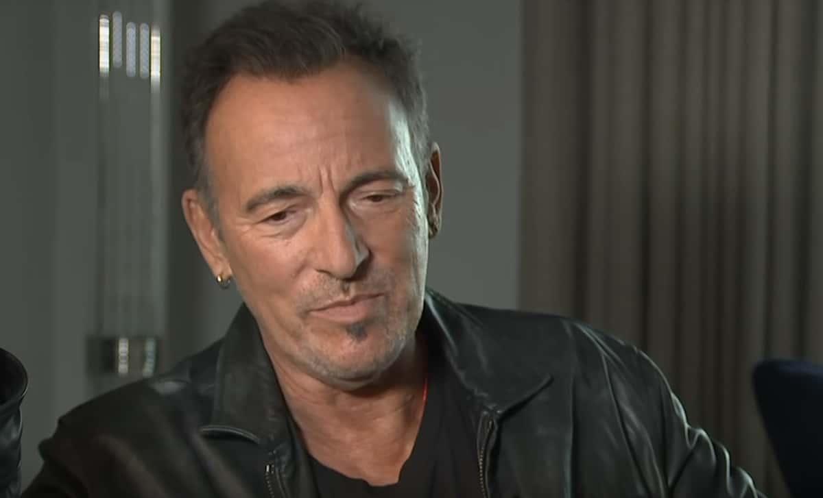 Bruce Springsteen arrêté par la police