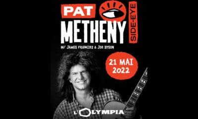 Pat Metheny en concert à l'Olympia