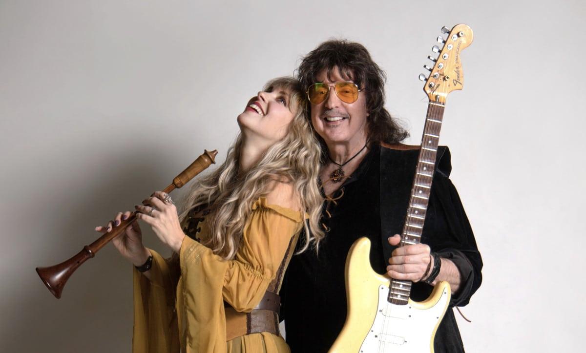 Ritchie Blackmore de retour avec son épouse