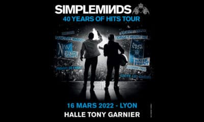 Simple Minds de concert à Lyon en 2022
