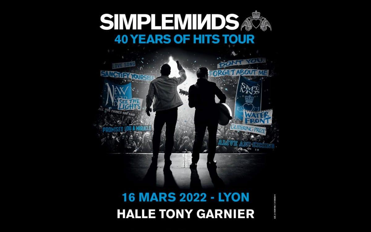 Simple Minds de concert à Lyon en 2022