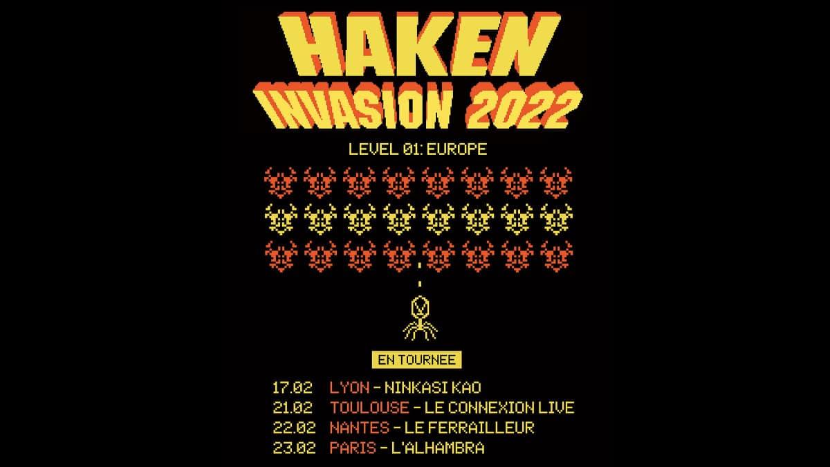 Haken concerts 2022