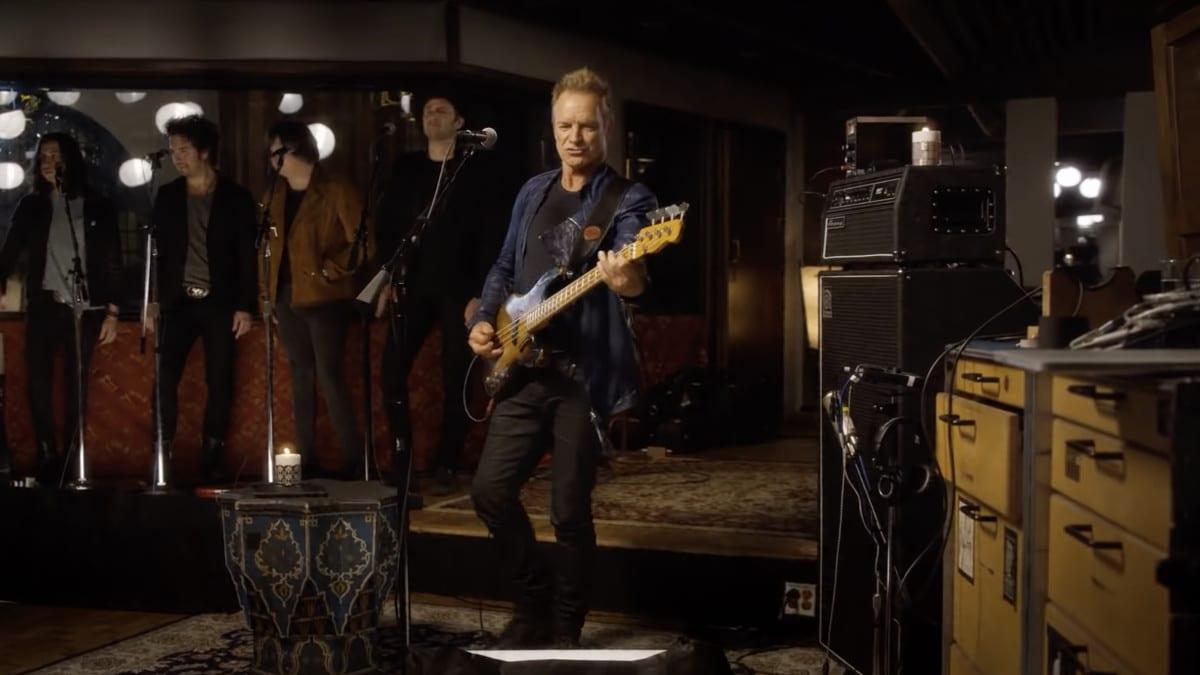 Sting concert Panthéon